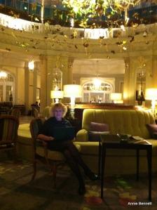 In the Rotonda at the Hotel Palace, Madrid