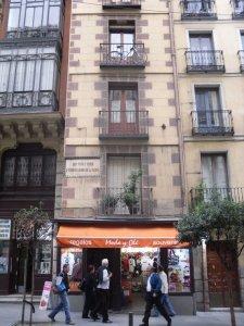 Calderon de la Barca's house