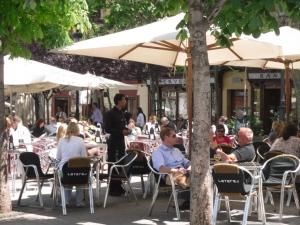 Santa Ana terraza Madrid