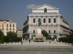 Madrid opera house
