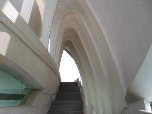 Parabolic arches at City of Arts and Sciences Valencia