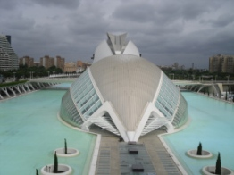 Hemisferic City of Arts and Sciences Valencia