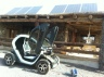 Twizy charging on solar power at the Finca de Arrieta