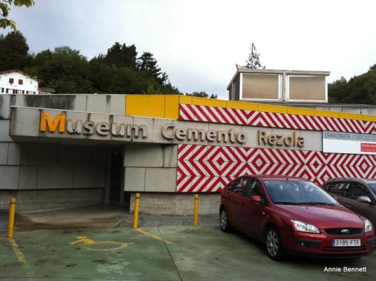 Rezola cement museum, San Sebastian