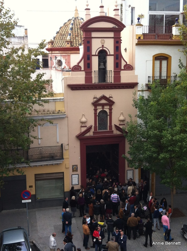 View from room 309, Hotel Adriano, Seville