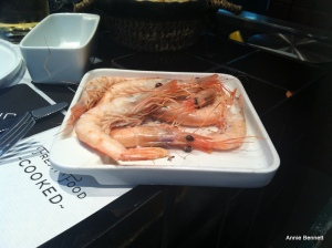 Prawns at Central Bar