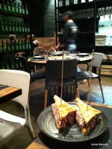 Pastrami sandwich at Canalla Bistro