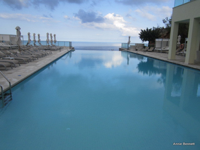 Infinity pool at Jumeirah Port Soller