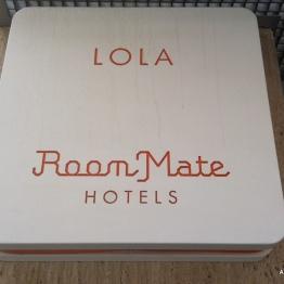 Room Mate Lola sign