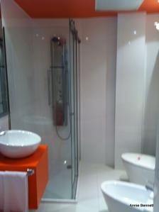 Bathroom room 509 Petit Palace Malaga