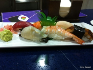 Nigiri at Rocio Sushi y Tapas