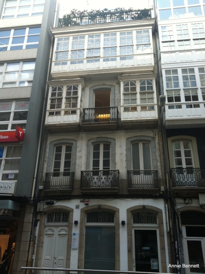 Picasso's house in Coruna