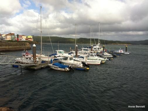 Camariñas harbour