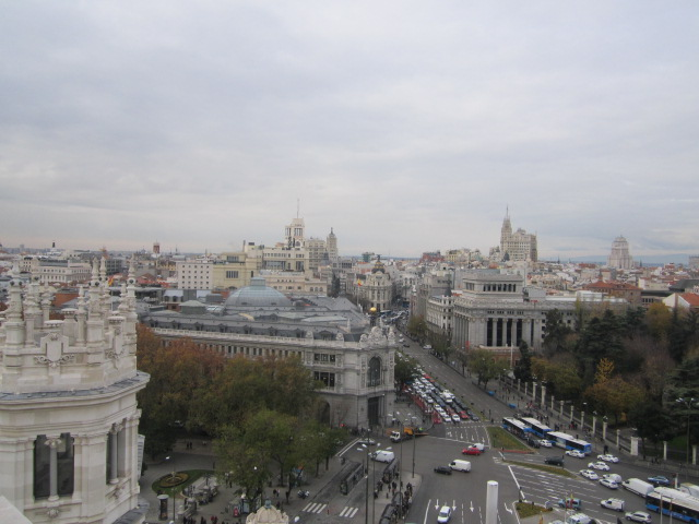 Madrid from Centro Centro