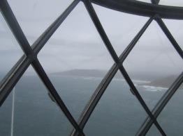 Lantern at Vilan lighthouse