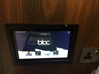 Bloc Gatwick tablet screen