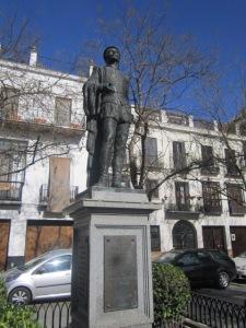 Don Juan statue in Plaza de Refinadores
