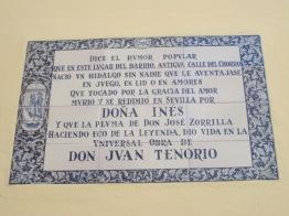 Don Juan plaque