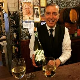 Simon at El Rinconcillo Seville