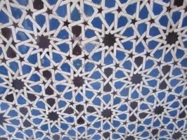Mosaic at Alcazar Seville