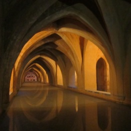 Baths at Alcazar Seville