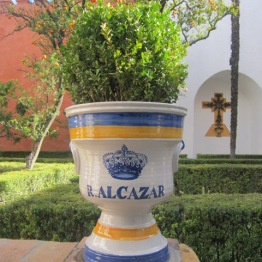 Gardens at Alcazar Seville