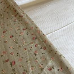 Bedspread in room 302 Hotel Sant Francesc