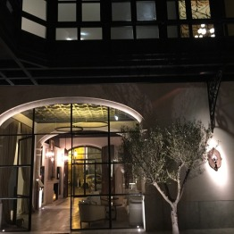 Patio at Hotel Sant Francesc
