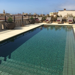 Rooftop pool at Hotel Sant Francesc Palma