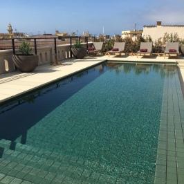 Rooftop pool at Hotel Sant Francesc Palma
