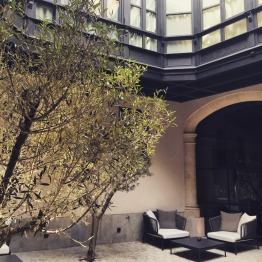 Patio at Hotel Sant Francesc Palma