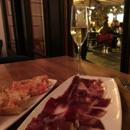 Jamon at Cort restaurant