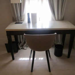 Desk in room 302 Hotel Sant Francesc Palma