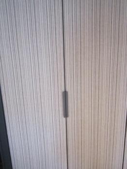 Wardrobe doors in room 302 Hotel Sant Francesc