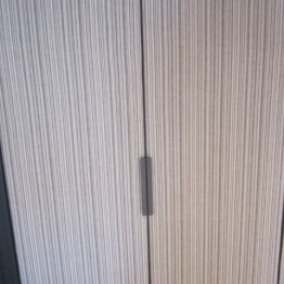 Wardrobe doors in room 302 Hotel Sant Francesc