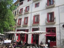 Cafe terrace Hotel Cort Palma