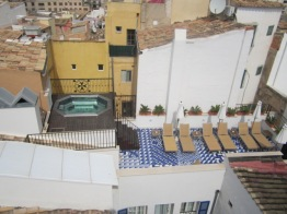 Roof terraces Hotel Cort