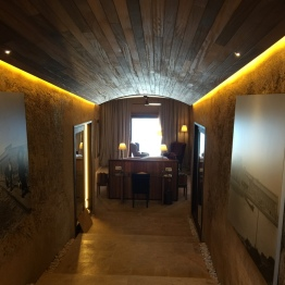 Entrance to Sentinel suite at Cap Rocat