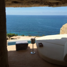 View from Sentinel suite at Cap Rocat