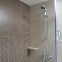 Shower at Riu Bravo