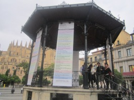 Bandstand Plaza Mayor Segovia