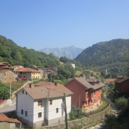 Carreña village houses